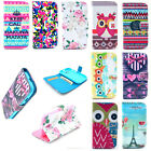 Leather Card Holder Wallet Flip Case Stand Pouch Cover Shell Cell Mobile Phone