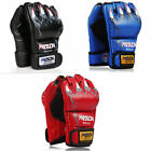 One Pair Blue&Red&Black Grappling Boxing Fight Gloves Striking Training Gloves