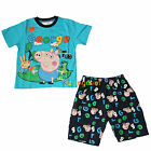 Peppa Pig George Summer Pyjamas Pajamas PJS Top Short Size 2,3,4,5,6