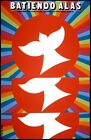 8267.Batiendo alas.cuban documentary.Pigeons fly.POSTER.movie decor.graphic art