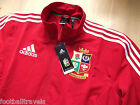 S M L XL XXL 3XL ADIDAS BRITISH LIONS RUGBY ANTHEM JACKET *ZIP POCKETS* 2013