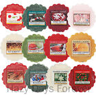 YANKEE CANDLE WAX TARTS 2015 Christmas BUY 10 GET FREE P&P Festive Tartlets Xmas