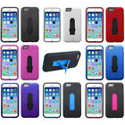 2-Layer V Stand Cover Protector Carrying Case For APPLE iPhone 6 6s (4.7 inch)