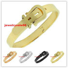 women/men's new fashion jewelry stainless steel belt open bangle brand new
