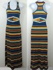 Ralph Lauren Denim Supply Southwestern Indian Aztec Racerback Max Dress XS S M L