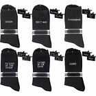 Black Groom Best Man Wedding cufflinks socks set with Gift Box + Free Tie Tac