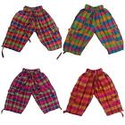 NEW TROUSERS KIDS MULTI COLOURED PANTS COTTON CHILDRENS HIPPY UNISEX ECUADOR 1-2