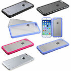 Soft TPU w/ Hard Back Gummy Cover Carrying Case For APPLE iPhone 6 6s (4.7 inch)