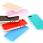 Cool Soft Rubber Matte TPU Gel Case Cover For Apple iPhone 5 & 5S