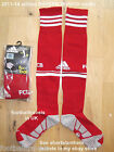 S M L XL XXL ADIDAS 2014 BAYERN MUNCHEN MUNICH HOME SOCKS football soccer Mens
