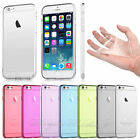 Crystal Clear Soft Hard Case Cover for Apple iPhone 6 4.7 & iPhone 6 Plus 5.5
