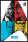 THE BIG BANG THEORY - FRAMED TV SHOW POSTER / PRINT (REVENGE / STAR TREK LOGO)