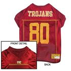 USC Trojans NCAA Licensed Pet Dog Football Jersey