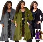 WOMENS JACKET DUSTER CASCADE LotusTraders MADE TO ORDER MISSES PLUS SIZE Q205