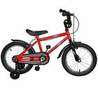 Urban Racer 12  and 16  Boys Bike BMX Style and removable stabilisers