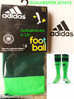 ADIDAS 2014 GERMANY GOALKEEPER HOME SOCKS football soccer calcio Mens 2015 New