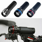 2x CREE Q5 LED Zoomable Front  + 5 LED Rear Mountain Bike Bicycle Cycles
