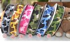"25yards 10mm (3/8"")  16mm(5/8"") Camo Camouflage Grosgrain Ribbon-Various Color"