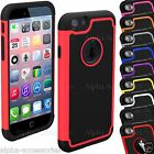 Shock Proof Dual Layer Silicone & Hard Defender PC Case Cover For Apple iPhone 6