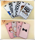 2014 New Apple Silicone Cartoon Handy Back Skin Shell Case Cover For iPhone 6