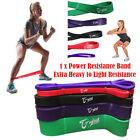 New heavy duty resistance bands oga loop home gym fitness exercise workout
