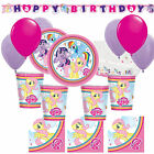 MY LITTLE PONY Girls Deluxe Birthday Party Kits Plates, Cups & More 8-40 guests!