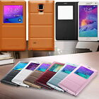 2014 Popular PU Leather Folio Case Cover for Samsung Galaxy Note 4 Great Quality