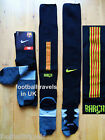 S M L XL BARCELONA NIKE 2014 AWAY SOCKS football soccer calcio New mens boys