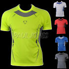 Professional Men Slim Short Sleeve T-Shirts Tee Soft Quick-Dry Muscle Polo Shirt