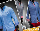 NEW UK Men's Designed Shirt K103 Long Sleeve Casual Business OMBRE CLOTHING