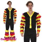 Mens LATIN Rumba COSTUME ~ Salsa MARDI GRAS Flamenco Dancer Fancy Dress Party