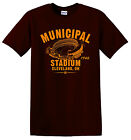 Municipal Stadium 1946 Football Tee Shirt - NFL Cleveland Browns Vintage