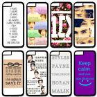 "One Direction 1D Quotes For 5.5"" iPhone 6 Plus Hard Plastic Case Back Cover"