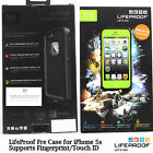 NEW Lifeproof FRE Waterproof Case for iPhone 5s Supports Touch ID Retail Pack