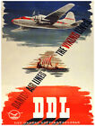 9948.DDL.Viking lines.danish airlines.POSTER.home decor graphic art