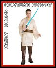 Licensed Star Wars Luke Skywalker Jedi Hero Fancy Dress TV Mens Costume ComicCon