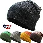 US Seller Knit Men Women Baggy Beanie Oversize Winter Hat Ski Slouchy Chic Skull