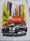 WHITE BRIGHT SUPER CAR CHAMPIONSHIP SHORT SLEEVED T SHIRT TOP 18 24 MONTHS
