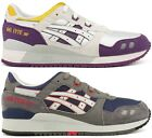 Asics Gel Lyte III New H305N 0101 Mens Athletic Casual Walking Lifestyle Shoes