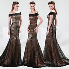 GK Sexy Mermaid Pageant Homecoming Dresses Wedding Long Evening Party Prom Dress