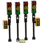Lego Traffic Lights for City Street / town / road - NEW Lego - Pack of 4