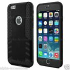 iPhone 6 Case & iPhone 6 Plus Heavy Duty Hybrid Shockproof Grip Back Cover