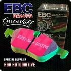 EBC GREENSTUFF PADS DP21162 FOR FORD FALCON BA XR8 UPGR 2003-05