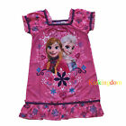 Disney Frozen Elsa and Anna Girl summer Nighty Pyjamas Pajamas Size 3,4,5,6,8
