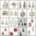 Christmas Charms Tree Snowman Snowflake Jingle Bell Santa Choose Designs