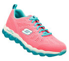 Skechers SKECH AIR-INSPIRE Women's Training Shoes HOT PINK/TURQUOISE 11849HPTQ