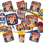 WWE Wrestling Superstars Birthday Party Tableware, Plates, Cups, Napkins !!