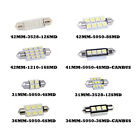 High Power LED Lights Car Interior Dome Map Festoon Bulbs Universal For Vehicles