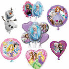 Disney Princess Balloons Birthday Party Frozen Anna Elsa Olaf Sofia Cinderella