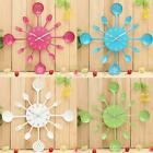 Metal Kitchen Cutlery Utensil Wall Clock Spoon Fork Ladel Home Christmas Decor